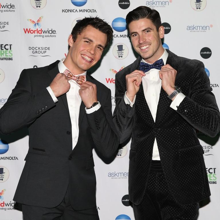 Andrew Morely(Actor) Scott Tweedie (TV & Radio Presenter)